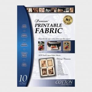 Premium printable fabric sheets