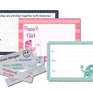 quilt label examples