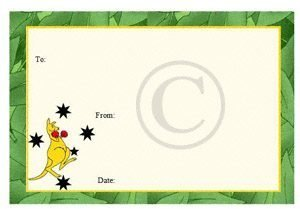Australian quilt labels pre printed