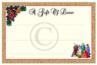Christmas label patchwork quilt label