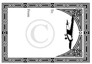 quilt label pre printed