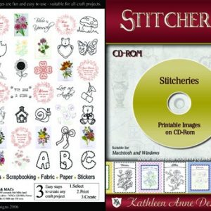 Stitchery Designs on CD Save $20