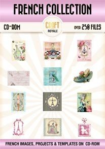 Vintage French Chic Images CD 50% Off