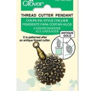 Clover Silver Thread Cutter