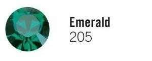 rhinestone crystals Emerald Green