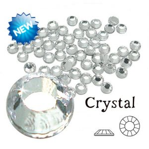 BULK Hotfix Rhinestone Iron On Crystals Clear 1000pcs