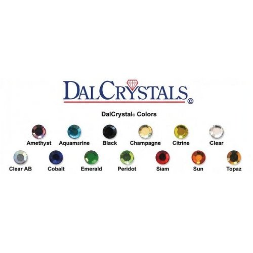 Dal Crystals assorted colours