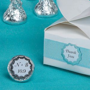 DIY Victoria Lynn Print Your Own Starburst Seals White w/ Silver