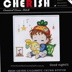 Counted Cross Stitch - Goodnight