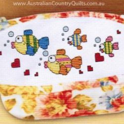 Counted Cross Stitch - Purse Fishes