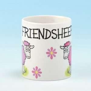 Mug Friendship Ceramic Kitchen Coffee Mug