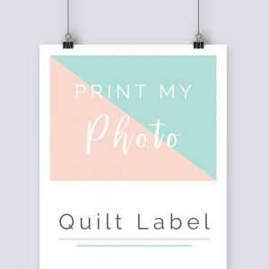 print my quilt label onto cotton