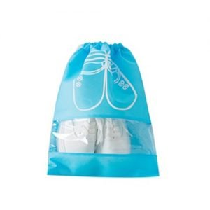 Laundry Bag Light Blue Dustproof Laundry Shoe Bag Storage