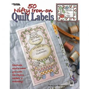 50 Nifty Iron On Quilt Labels