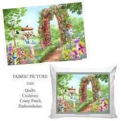 Flower Garden birdhouse