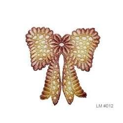 Bow lace motif