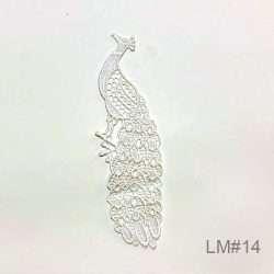 peacock lace motif
