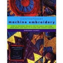 contemporary machine embroidery book