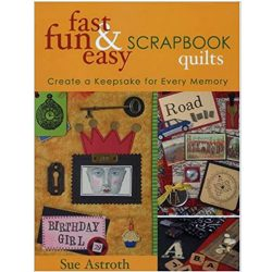 fast fun easy scrapbook quilts book