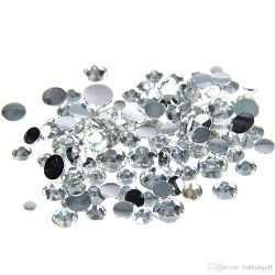 Iron on Rhinestones DalCrystals Clear Crystal
