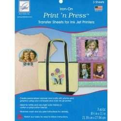 Print n Press Iron On Transfer Sheets