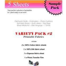 Printable Fabric Variety Pack #2
