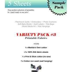 Printable Fabric Variety Pack #3