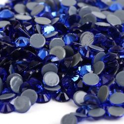 cobalt blue iron on hotfix
