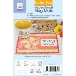 June Tailor - Inspirational Mug Mats - Quilty Fun