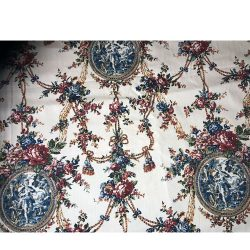 Toile Midnight Magic circa 1840 Fabric 280cm Wide Fabric